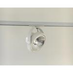 Railspot Barca ² LED voor Made spanningsrail I Wit
