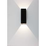Wandlamp Vegas 15 cm zwart
