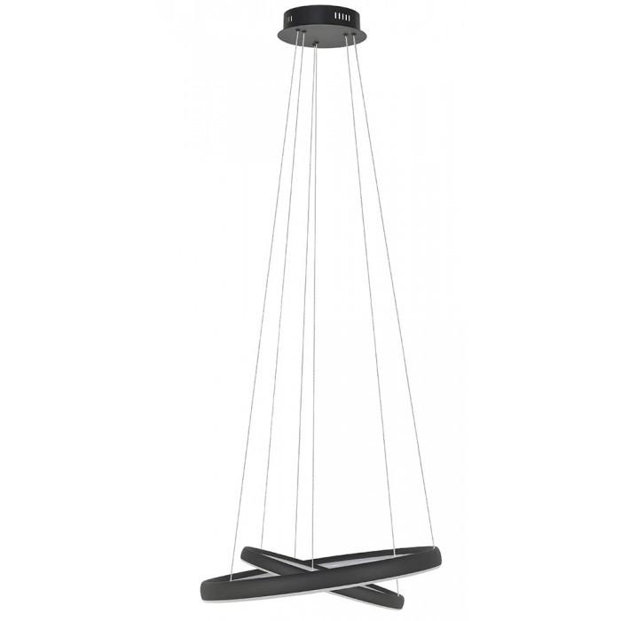 Hanglamp Saturnus 70W LED zwart